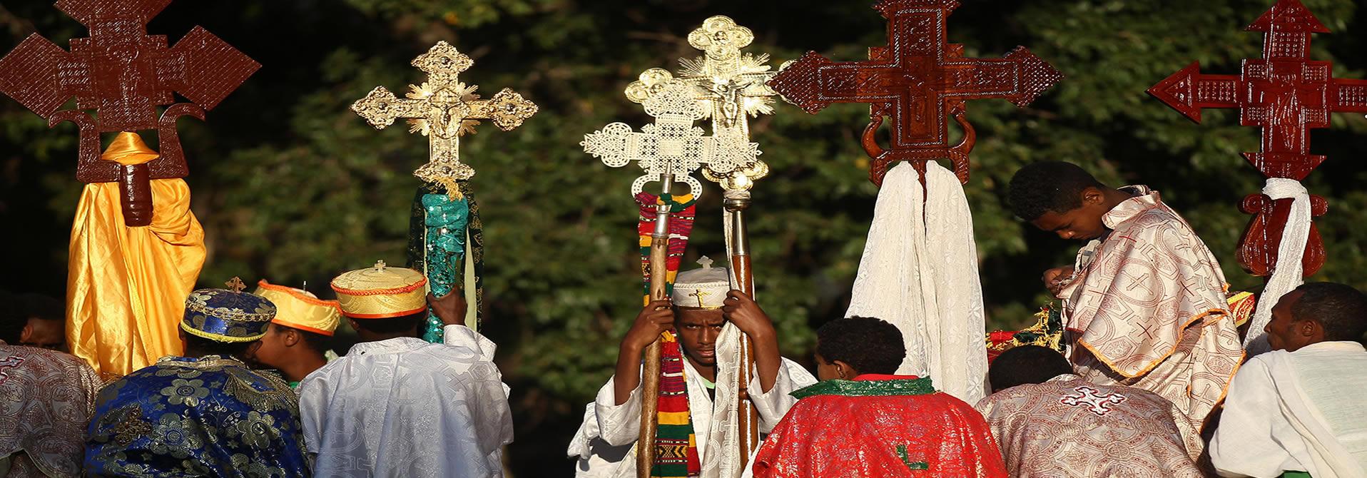 Festival Religioso-Visitas del Festival de Etiopía
